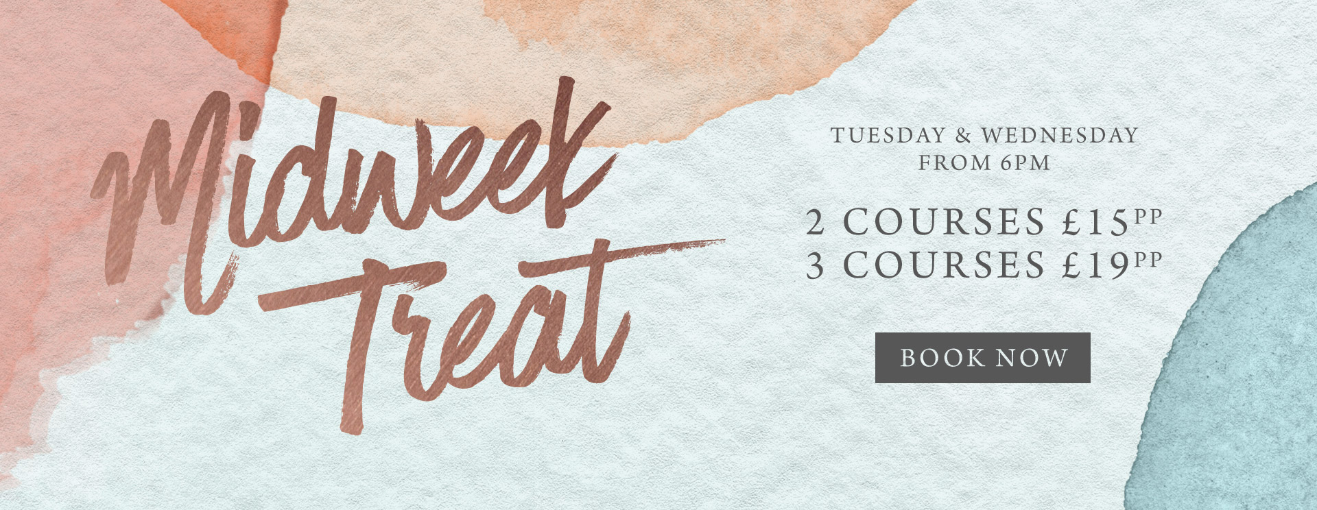 Midweek treat at The Mossbrook Inn - Book now
