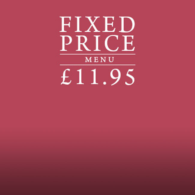 Fixed Price Menu at The Mossbrook Inn